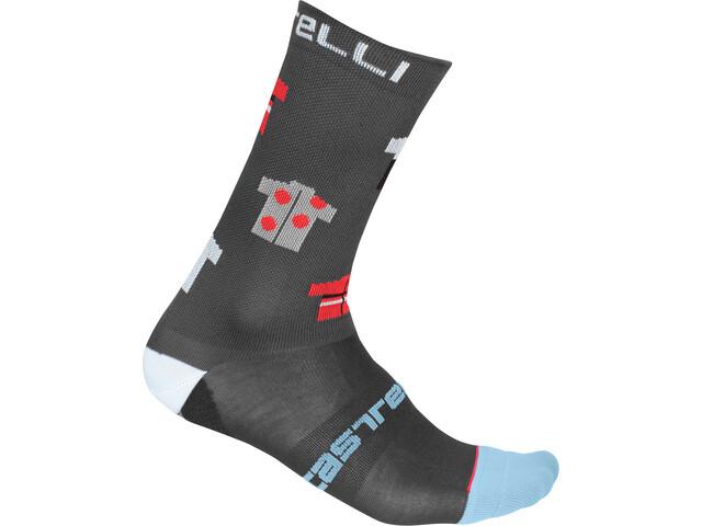 Castelli Pazzo 18 Socken dark gray